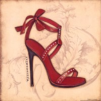 Fashionista Red Heel Fine-Art Print
