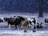 One Snowy Night Fine-Art Print