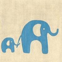Best Friends- Elephants Fine-Art Print