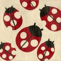 Best Friends- Ladybugs Fine-Art Print