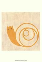 Best Friends- Snail Fine-Art Print