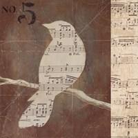 Bird Silhouettes II Fine-Art Print