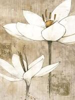 Pencil Floral I Fine-Art Print