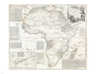1794 Boulton and Anville Wall Map of Africa Fine-Art Print