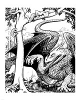 Dragon III Fine-Art Print