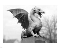 Dragon Statue Fine-Art Print