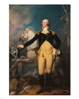 General George Washington at Trenton by John Trumbull Fine-Art Print