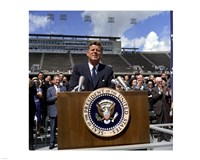 JFK at Rice University Fine-Art Print
