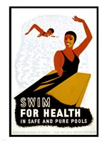 Swim for Health Fine-Art Print