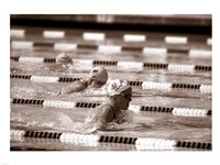 Swimming Event at the 1984 Summer Olympics Fine-Art Print