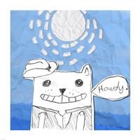 Howdy Cat Fine-Art Print