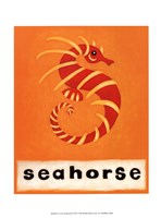 S is for Seahorse Fine-Art Print
