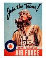 Join the Team RCAF Fine-Art Print