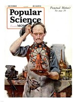 Perpetual Motion by Norman Rockwell Fine-Art Print