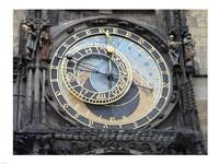 Prague - Astronomical Clock Detail Fine-Art Print