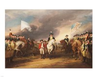The Surrender of Lord Cornwallis at Yorktown October 19 1781 Fine-Art Print