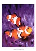 Jeweled Fish I Fine-Art Print