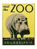 Visit the Zoo - Philadelphia Fine-Art Print