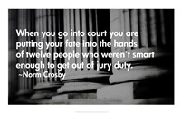 Court Quote Fine-Art Print