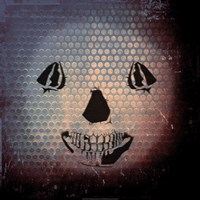 Grunge Skull Smile Fine-Art Print