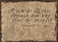 Philippians Quote Fine-Art Print