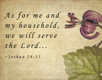 My Household Serves the Lord Fine-Art Print