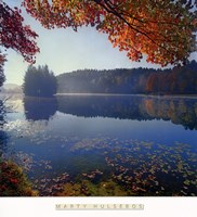 Bass Lake in Autumn I Fine-Art Print