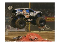 Bounty Hunter Monster Truck Fine-Art Print