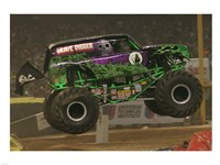 Grave Digger Monster Truck Fine-Art Print