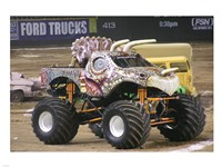 Jurassic Attack Monster Truck Fine-Art Print