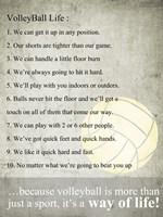 Volleyball Life Fine-Art Print