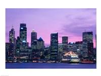 Skyscrapers in a city, Circular Quay, Sydney, Australia Fine-Art Print