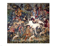 The Hunt of the Unicorn Tapestry Fine-Art Print
