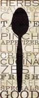 Kitchen Words II Fine-Art Print