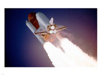 Atlantis Taking Off on STS-27 Fine-Art Print