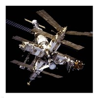 Mir Space Station From Below Fine-Art Print