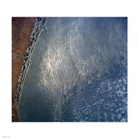 Ocean wave forms of the coast of Mexico Fine-Art Print