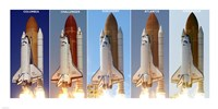 Shuttle Profiles Fine-Art Print