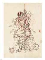 Samurai Sketch Fine-Art Print