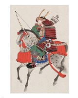 Samurai on horseback Fine-Art Print