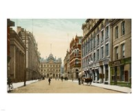 Postcard of Toronto street and post office, Toronto, Canada Fine-Art Print