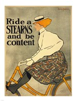 Ride a Stearns Bicycle Fine-Art Print