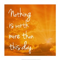 Nothing is worth more Fine-Art Print