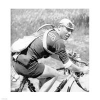 Lucien Buysse in de Tour de France 1926 Fine-Art Print