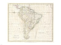 1796 Mannert Map of North America and South America Fine-Art Print
