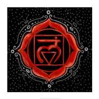 Muladhara - Root Chakra, Support Fine-Art Print