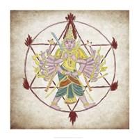 Chakra Ayudhapurusha Fine-Art Print
