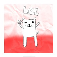 LOL Cat Fine-Art Print
