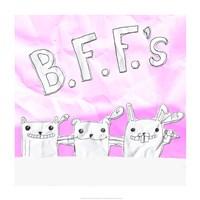 BFF Cats Fine-Art Print