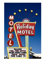 Holiday Motel Sign, Las Vegas, Nevada Fine-Art Print